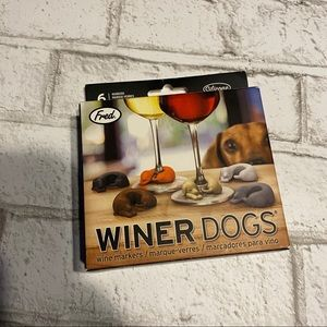 NWT Fred Winer Dogs Wine Markers